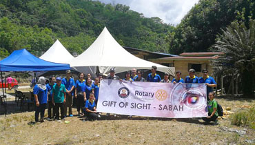 Cataract Camp in Kg Bintasan Tengah